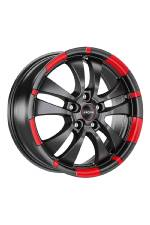 LM 7.5x18 R59 SW RED ET40 5/108 ML76 Ronal