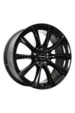 LM 7x16 RE BLACK GLOSSY ET48 5/112 ML57,1 Borbet